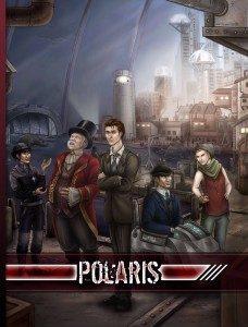 Omslaget till boken Polaris: Smugglarnas stad.