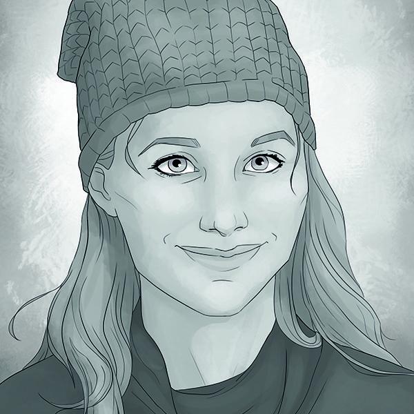 Diana Hunter spelas av Kristoffer Warnberg